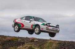 Toyota Celica Rallycar Arkivfoton