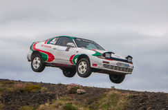 Toyota Celica Rallycar Stock Photos