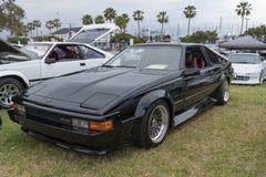 Toyota Celica Supra-1984 auf Anzeige Lizenzfreie Stockfotos