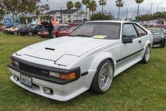 Toyota Celica supra-1985 på skärm Arkivfoto