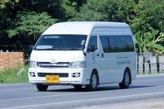 Toyota commuter van Stock Image
