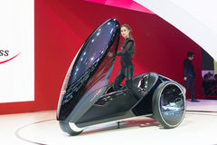 Toyota Concept Car on display Royalty Free Stock Images