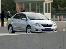 Toyota corolla Royalty Free Stock Photos