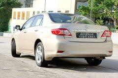 Toyota Corolla royalty-vrije stock afbeelding
