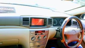 Toyota X Corolla-Dashboard stock afbeeldingen