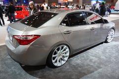Toyota Corolla DUBBAR arkivfoton