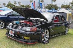 Toyota Corolla 2001 en la exhibición Foto de archivo