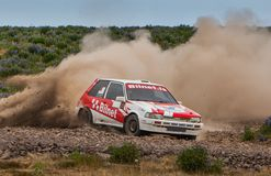 Toyota Corolla GTI Rallycar Stock Photos