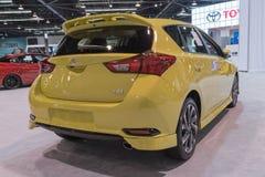 Toyota Corolla iM op vertoning royalty-vrije stock afbeeldingen