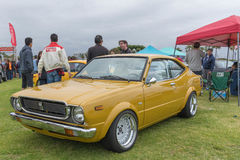 Toyota Corolla Levin SR5 on display Stock Photography