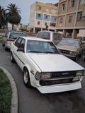 Toyota Corolla oldschool royaltyfri foto