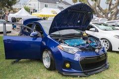 Toyota Corolla S 2015 na pokazie Zdjęcia Stock