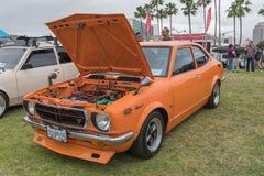 Toyota Corolla-Sprinter 1972 auf Anzeige Lizenzfreies Stockfoto