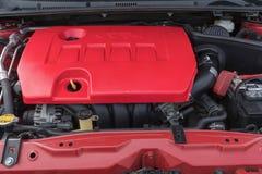 Toyota Corolla 2014 sur l'affichage Photo libre de droits