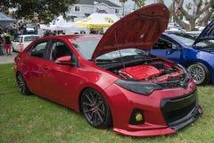 Toyota Corolla 2014 sur l'affichage Photographie stock