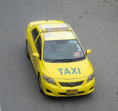 Toyota corolla thailand taxi Royalty Free Stock Image