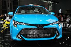 Toyota Corolla XSE royalty-vrije stock afbeelding