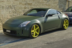 Toyota coupe car special edition royalty free stock photos