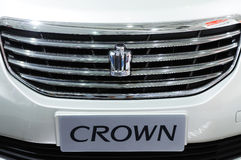 Toyota crown  logo Stock Photo