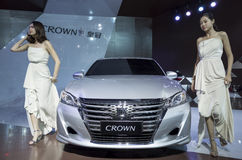 TOYOTA Crown Sedan Stock Photo