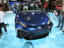 Toyota-de auto bij Internationale Auto van New York toont Stock Afbeeldingen