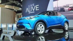 Toyota-de Motor stelt c-u bij de 34ste Motor Expo 2017 voor Stock Afbeelding