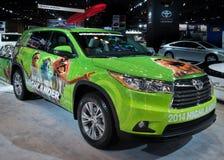2014 Toyota-de Uitgave van Hooglandermuppets Stock Foto