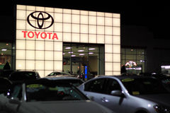 Toyota Dealership Showroom Royalty Free Stock Image