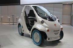 Toyota droga przy Paryskim Auto przedstawieniem Fotografia Royalty Free