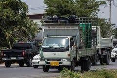 Toyota Dyna Cargo Truck de Nim ve a Seng Transport Company Fotos de archivo