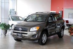 Toyota a estrenar RAV Imagen de archivo