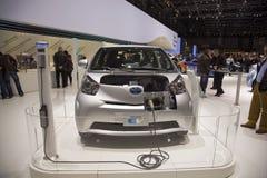 Toyota EV Prototype Stock Photos