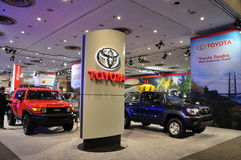 Toyota Exhibit Royalty Free Stock Image