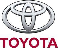 Toyota Företag logo royaltyfri illustrationer