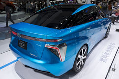 TOYOTA FCV Fuel Cell Concept Royalty Free Stock Image