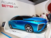 Toyota FCV (Fuel Cell Vehicle) concept Royalty Free Stock Photos