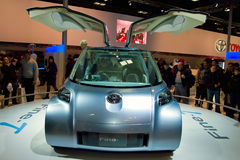 Toyota Fine-T fuel cell concept car Stock Image