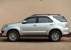 Toyota fortuner Royalty Free Stock Image