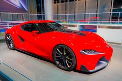 Toyota FT-1 Obrazy Stock