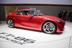 Toyota FT-86 Concept Car Royalty Free Stock Photos