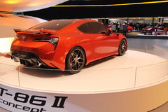 Toyota Ft-86 sur 64rd IAA Photographie stock