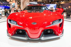 Toyota FT1 in the CIAS Royalty Free Stock Images
