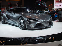 Toyota FT-1Concept Car. The Toyota FT-1 concept car is a glimpse  into the future  of performance cars Stock Image
