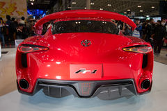 Toyota FT-1 @ Tokyo Auto Salon 2016. Toyota FT-1 concept car displayed at Tokyo Auto Salon 2016 January 15-17 Royalty Free Stock Photo