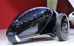 Toyota FV2 concept car at the 35th Bangkok International Motor Show 2014 Stock Images