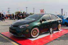 Toyota-gewijzigde bloemkroon Royalty-vrije Stock Fotografie