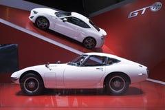 Toyota GT 6 e 2000GT Imagem de Stock
