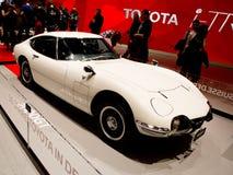 Toyota 2000GT in Genève 2017 Royalty-vrije Stock Foto's