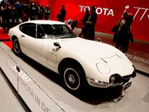 Toyota 2000GT at Geneva 2017 Royalty Free Stock Photos