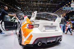 Toyota GT86, Motor Show Geneva 2015 Royalty Free Stock Images